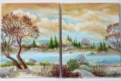 Frieda Reverse Landscape 2016